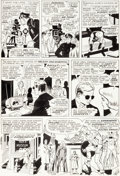 Original Comic Art:Panel Pages, Wally Wood Daredevil #6 Story Page 5 Original Art (Marvel, 1965)....