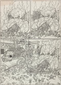 Original Comic Art:Panel Pages, Geof Darrow Hard Boiled #2 Story Page 13 Original Art (DarkHorse, 1991)....