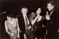 Photographs:Gelatin Silver, Christopher Makos (American, 1948). The Gang of Four at Studio 54 (Liza Minelli, Andy Warhol, Bianca Jagger, and Halston),...