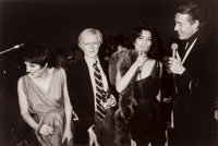 Christopher Makos (American, 1948) The Gang of Four at Studio 54 (Liza Minelli, Andy Warhol, Bianca Jagger, and