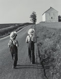 Photographs, George A. Tice (American, b. 1938). Two Amish Boys, 1962. Gelatin silver. 13 x 10-1/4 inches (33.0 x 26.0 cm). Signed in...