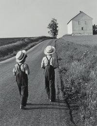 George A. Tice (American, b. 1938) Two Amish Boys, 1962 Gelatin silver 13 x 10-1/4 inches (33.0 x