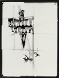 Photographs, Lászlo Moholy-Nagy (American, 1894-1946). Structure of the World, circa 1925. Gelatin silver, printed 1995 by Hattula Mo...
