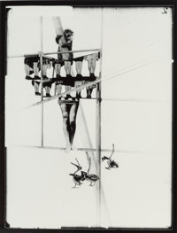 Lászlo Moholy-Nagy (American, 1894-1946) Structure of the World, circa 1925 Gelatin silver, printed