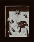 Photographs:Gelatin Silver, Olivia Parker (American, b. 1941). Bird Game, 1982. Gelatinsilver. 13 x 10-1/2 inches (33.0 x 26.7 cm). Signed, titled,...