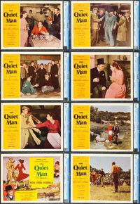 "The Quiet Man (Republic, 1952). CGC Graded Lobby Card Set of 8 (11"" X 14""). ... (Total: 8 Items)"