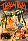 Movie Posters:Science Fiction, Tarantula (Universal International, 1956). Full-Bl...
