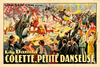 "Red Heels (Union Artistic Films, 1925). French Double Grande (93.5"" X 63) E. Florit Artwork"