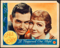 "Movie Posters:Academy Award Winners, It Happened One Night (Columbia, 1934). Lobby Card (11"" X 14"").. ..."