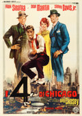 "Movie Posters:Comedy, Robin and the 7 Hoods (Warner Brothers, 1964). Italian 4 - Fogli(55"" X 77"") Averardo Ciriello Artwork.. ..."