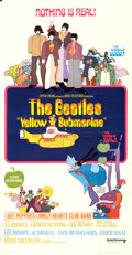 "Movie Posters:Animation, Yellow Submarine (United Artists, 1968). Three Sheet (41"" X 78.75"")Heinz Edelmann Artwork.. ..."