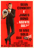 "Movie Posters:James Bond, You Only Live Twice (United Artists, 1967). Italian 4 - Fogli (55""X 78"").. ..."