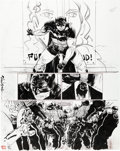 Original Comic Art:Panel Pages, Paul Pope Batman: Year 100 #2 Story Page 42 Original Art(DC, 2006)....