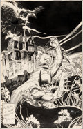 Original Comic Art:Covers, Michael Kaluta Batman Annual #12 Cover Original Art (DC, 1988)....