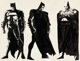 Frank Miller The Complete Frank Miller Batman #1 Hardback Cover Element and Interior Illustrations Original Art an... (T...