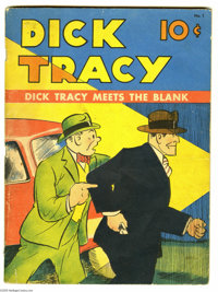 Large Feature Comic #1 (Dell, 1942) Condition: VG. This earliest Dell Dick Tracy comic book doesn't turn up very often...