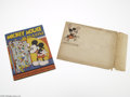 Memorabilia:Miscellaneous, Mickey Mouse Magazine #1 with Mailing Envelope (Hal Horne Incorporated, 1935) Condition: FN-. The first issue of Mickey Mous...
