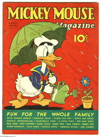 Mickey Mouse Magazine V2#7 (K. K. Publications, Inc., 1937) Condition: VG+. Overstreet 2005 VG 4.0 value = $100. From th...