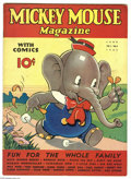 Memorabilia:Comic-Related, Mickey Mouse Magazine V2#9 (K. K. Publications, Inc., 1937) Condition: FN. One word of crossword puzzle filled in in pencil....