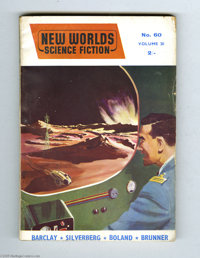 John Brunner Book Group (Various, 1957-91). British science-fiction author John Brunner was well-known for infusing his...