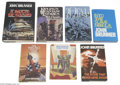 Books, John Brunner - Hardback Book Group (Various, 1956-92). Hugo Awardwinner John Brunner's personal library was the source of t... (7items)