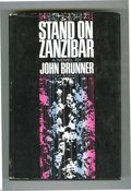 Books:Signed Editions, John Brunner - Stand on Zanzibar with Dust Jacket (Harper &Row, 1968). The world is an overpopulated hive of people, crowdi...