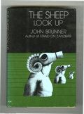Books:Signed Editions, John Brunner - The Sheep Look Up with Dust Jacket (Harper &Row, 1972). An enduring classic, this book offers a dramatic and...