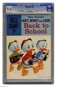 Dell Giants #22 Huey Dewey and Louie Back to School - File Copy (Dell, 1959) CGC NM+ 9.6 Off-white to white pages. Donal...