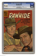 Silver Age (1956-1969):Western, Four Color #1097 Rawhide (Dell, 1960) CGC NM 9.4 Off-white to whitepages. Photo cover featuring Clint Eastwood (as Rowdy Ya...