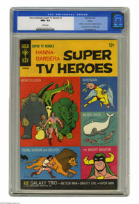 Hanna-Barbera Super TV Heroes #1 Boston pedigree (Gold Key, 1968) CGC NM+ 9.6 White pages. Veteran Dan Spiegle provided...