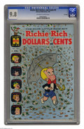 """Silver Age (1956-1969):Humor, Richie Rich Dollars and Cents #9 File Copy (Harvey, 1965) CGC NM/MT 9.8 Off-white to white pages. We used to think """"high-gra..."""