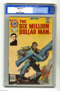 Magazines:Superhero, Six Million Dollar Man #1 (Charlton, 1976) CGC NM/MT 9.8 Whitepages. Charlton scored quite a coup by getting the comic book...