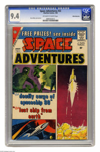 Space Adventures #32 White Mountain pedigree (Charlton, 1960) CGC NM 9.4 Off-white to white pages. Steve Ditko cover and...