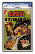 Silver Age (1956-1969):Science Fiction, Space Adventures #42 Bethlehem pedigree (Charlton, 1961) CGC NM-9.2 Off-white to white pages. Steve Ditko cover and art. Co...