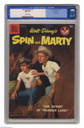 Silver Age (1956-1969):Adventure, Spin and Marty #6 File Copy (Dell, 1958) CGC NM 9.4 Off-white pages. Photo cover. Overstreet 2005 NM- 9.2 value = $115. CGC ...