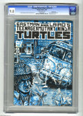 Modern Age (1980-Present):Superhero, Teenage Mutant Ninja Turtles #3 Double Cover (Mirage Studios, 1985)CGC NM/MT 9.8 Off-white pages. Kevin Eastman and Peter L...
