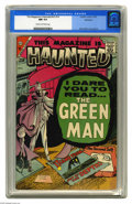 Silver Age (1956-1969):Horror, This Magazine Is Haunted V2#14 Bethlehem pedigree (Charlton, 1957) CGC NM 9.4 Cream to off-white pages. The great Steve Ditk...