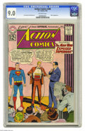 Silver Age (1956-1969):Superhero, Action Comics #288 (DC, 1962) CGC VF/NM 9.0 Off-white pages. Mon-El appearance. Curt Swan and Jim Mooney art. Overstreet 200...