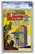 Silver Age (1956-1969):Superhero, Action Comics #292 (DC, 1962) CGC VF/NM 9.0 Cream to off-white pages. The second appearance of Comet the Super-Horse. Lex Lu...