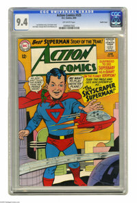 Action Comics #325 Pacific Coast pedigree (DC, 1965) CGC NM 9.4 Off-white pages. Curt Swan cover. Swan and Jim Mooney ar...