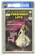 Bronze Age (1970-1979):Romance, Dark Mansion of Forbidden Love #2 Pacific Coast pedigree (DC, 1971)CGC NM+ 9.6 White pages. Cover artist Neal Adams chose g...