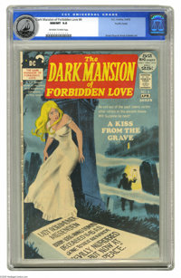 Dark Mansion of Forbidden Love #4 Pacific Coast pedigree (DC, 1972) CGC NM/MT 9.8 Off-white to white pages. Nick Cardy d...