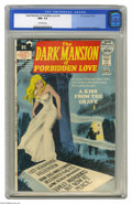 Bronze Age (1970-1979):Horror, Dark Mansion of Forbidden Love #4 (DC, 1972) CGC NM+ 9.6 Off-whitepages. Last issue of the title. Nick Cardy cover. Ernie C...