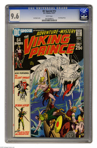 DC Special #12 Viking Prince (DC, 1971) CGC NM+ 9.6 White pages. Joe Kubert cover and art. Overstreet 2005 NM- 9.2 value...