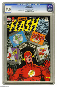 The Flash #196 (DC, 1970) CGC NM+ 9.6 Off-white to white pages. Aka 80-Page Giant G-70. Murphy Anderson cover. Overstree...