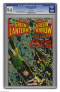 Bronze Age (1970-1979):Superhero, Green Lantern #81 (DC, 1970) CGC NM+ 9.6 White pages. This issue from the acclaimed Neal Adams/Denny O'Neil run has somethin...