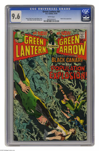 Green Lantern #81 (DC, 1970) CGC NM+ 9.6 White pages. This issue from the acclaimed Neal Adams/Denny O'Neil run has some...