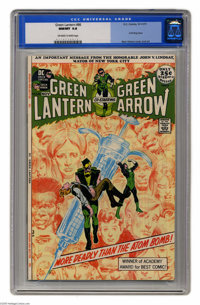 Green Lantern #86 (DC, 1971) CGC NM/MT 9.8 Off-white to white pages. This second installment of the famous anti-drug sto...
