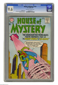 Silver Age (1956-1969):Science Fiction, House of Mystery #144 (DC, 1964) CGC NM+ 9.6 Off-white to whitepages. If you're a collector who keeps up with the J'onzzes,...