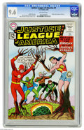 Silver Age (1956-1969):Superhero, Justice League of America #9 (DC, 1962) CGC NM+ 9.6 Off-white pages. Despite having eight issues of this title under their b...